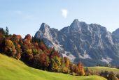 Altweibersommer In Alpen