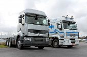 Two Renault Premium 460 Trucks