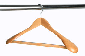 foto of clothes hanger  - hanger - JPG