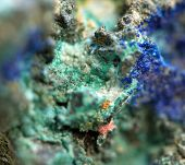 Abstract Background,crystal Stone. Extreme Closeup.macro