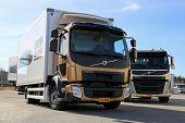 Volvo FL512 Citipro And FM11 Hookpro Trucks