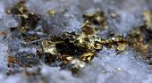 pic of iron pyrite  - Crystalnugget gold bronze copper iron - JPG