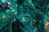 Crystal Stone. Extreme Closeup.macro