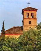 Church Iglesia Durante La Eucarista Carrera Del Darro Albaicin Granada Andalusia Spain