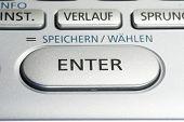Постер, плакат: Введите ключ на клавиатуре