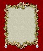 Elegant Swirl Frame
