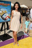 LOS ANGELES - APR 11:  Joyce Giraud at the Despicable Me Minion Mayhem  and Super Silly Fun Land at