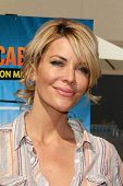 LOS ANGELES - APR 11:  McKenzie Westmore at the Despicable Me Minion Mayhem  and Super Silly Fun Lan