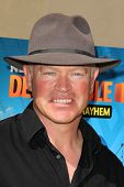 LOS ANGELES - APR 11:  Neal McDonough at the Despicable Me Minion Mayhem  and Super Silly Fun Land a
