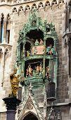 Glockenspiel On The Munich City Hall