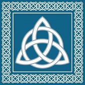Ancient Symbol Triskel, Traditional Element For Celtic Ethnic Design -  Vector Illustration
