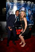 LOS ANGELES - APR 16:  Marlon Wayans, Missi Pyle at the