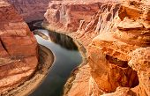 Deep Canyon Colorado River Desert Southwest Natural Scenic Landscape