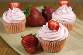 Strawberry Cupcaakes