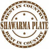 Shawarma Plate-stamp