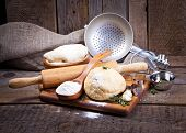image of bakeshop  - Dough background - JPG