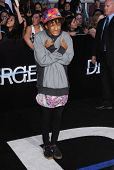 LOS ANGELES - MAR 18:  Jaden Smith arrives to the 'Divergent' Los Angeles Premiere  on March 18, 201