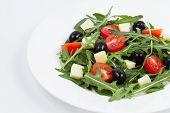 Salad With Mozzarella