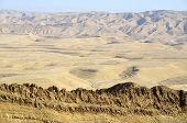 Negev Desert Landscape.