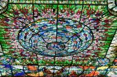 Stained-glass In Xcaret, Mexico
