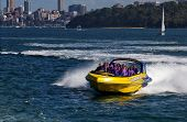 Thrilling jet boat ride on Sydney Harbour