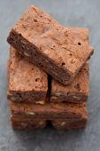 Freshly Baked Chocolate Brownies