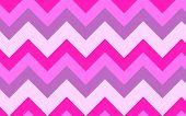 Pink Chevrons