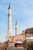 foto of constantinople  - Exterior of Hagia Sofia church in Istanbul Constantinople Turkey - JPG