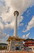 Busan Tower (1973) In Yongdusan Park In Busan, Korea