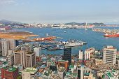 View Of Busan Port International Passenger Terminal, South Korea