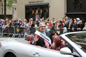 Honorary parade grand marshal
