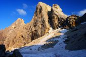 Evening View In Pale Di San Martino