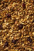Healthy Homemade Granola With Nuts