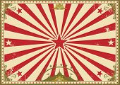 circus vintage horizontal background. A circus vintage poster for your advertising. Perfect size for