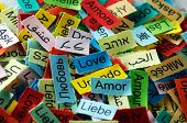 Love Multilingual Word