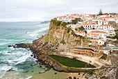 Azenhas do Mar village, Sintra Portugal