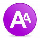 alphabet web icon