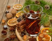 Mulled Wine, Spices And Nuts