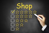 Black Chalkboad Shop Ranking