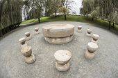 Constantin Brancusi's Table of Silence
