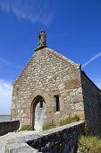 Saint Aubert Chapel, in Mont Saint Michel, France