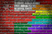 Dark Brick Wall - Lgbt Rights - Oman
