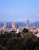 City rooftops, Florence, Italy.