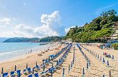 Beach And Town Of Lerici, Italy