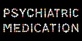 Psychiatric Medication Pills