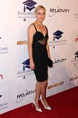LOS ANGELES - OCT 14:  Amber Valetta at the Fulfillment Fund Stars Benefit Gala 2014 at Beverly Hilt