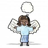 cartoon everyday angel