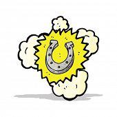 lucky horseshoe symbol;