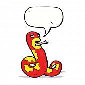 cartoon poisonous snake