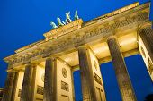 Brandenburg Gate at night , Berlin